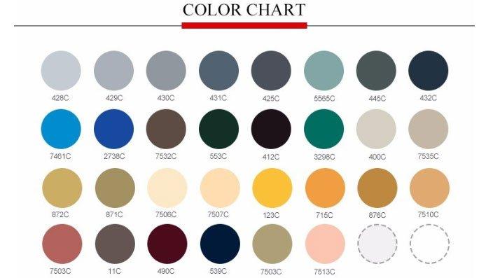 aluminium composite panel colors