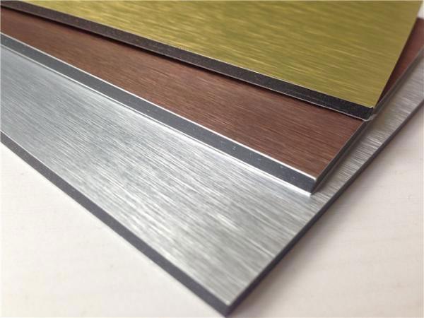 Alucoworld ▎Brushed aluminum composite panel