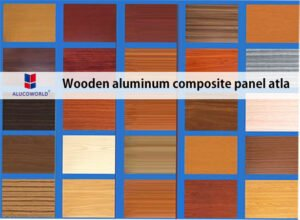 wooden aluminum composite panel atla
