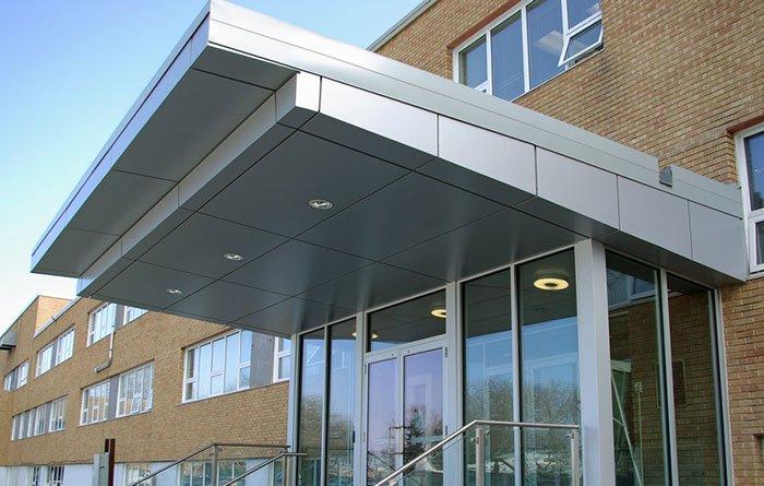 Canopy Aluminum Composite Panel Alucoworld Acp