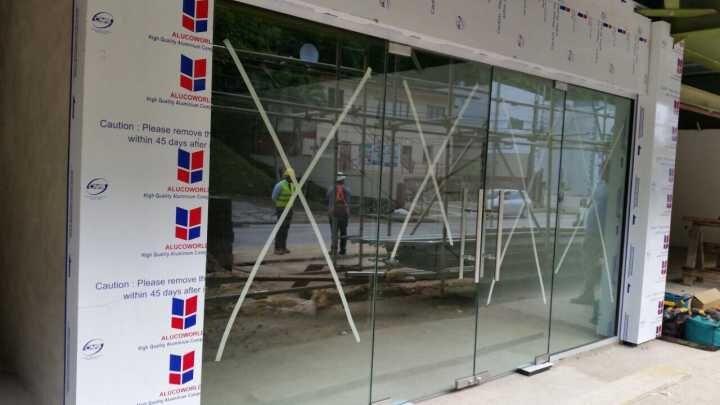 aluminium composite panel price