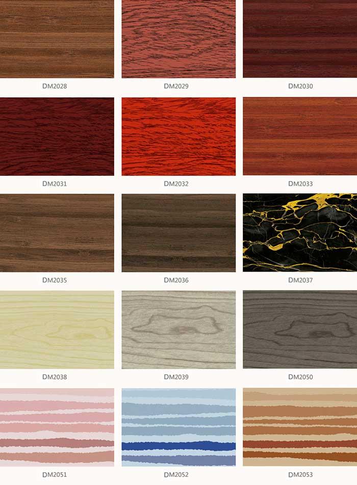 ACP Panels color chart