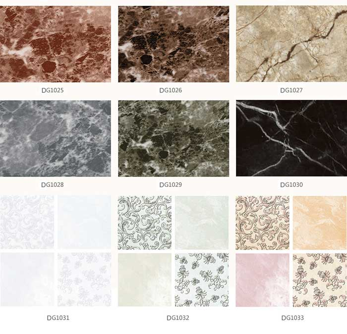 ACP Marble colors