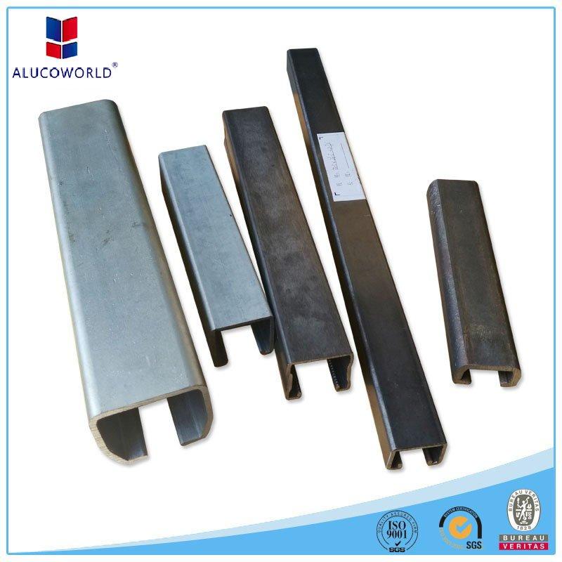 Omega profile for aluminum composite panel - Alucoworld ACP