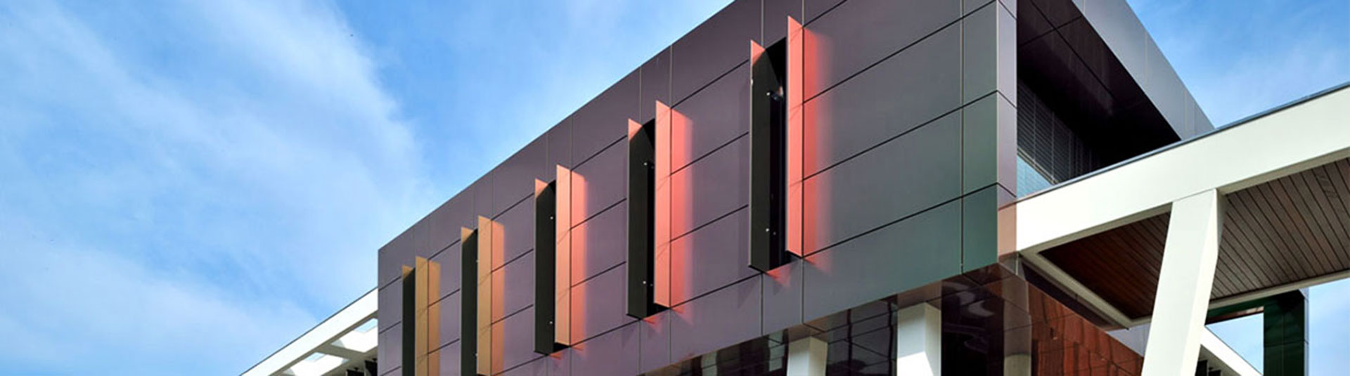 Application of aluminum composite wall panels in home decoration