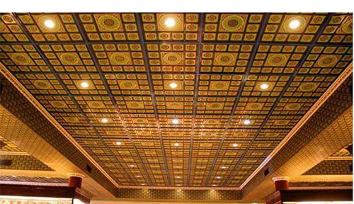 European retro style ACP ceiling