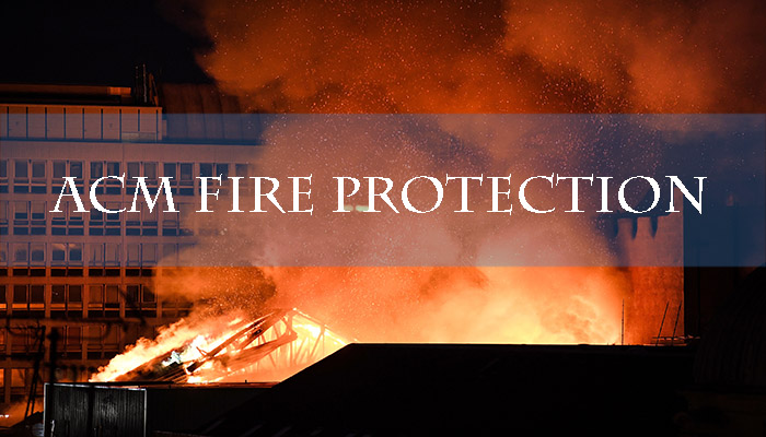 How many you know about ACM fire protection