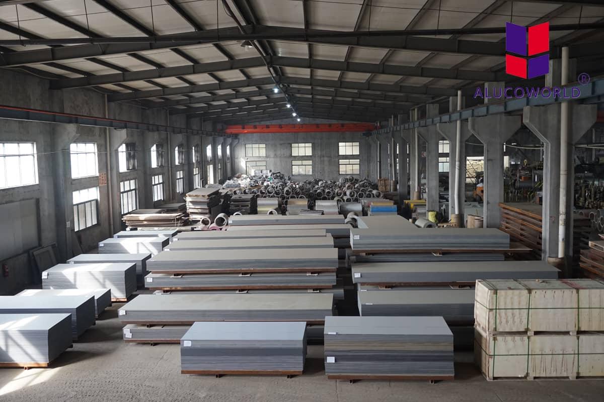 Alucoworld ACP sheet solution for facade cladding