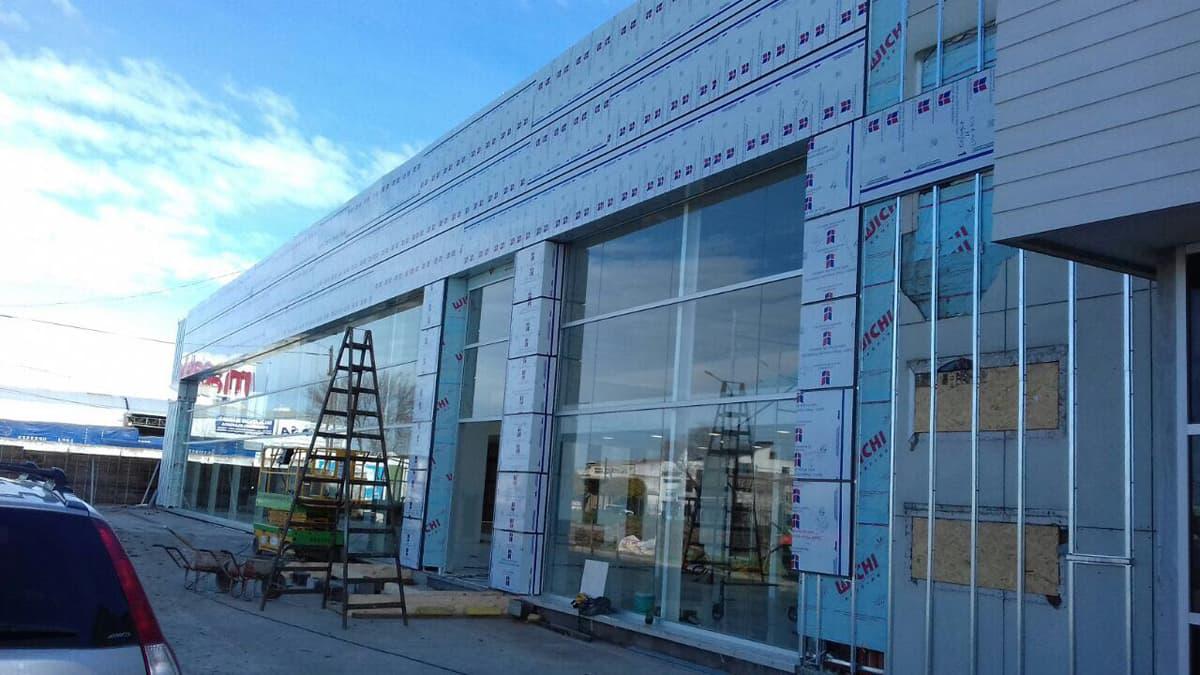 Alucoworld PVDF Aluminum Composite Panel Project Sample