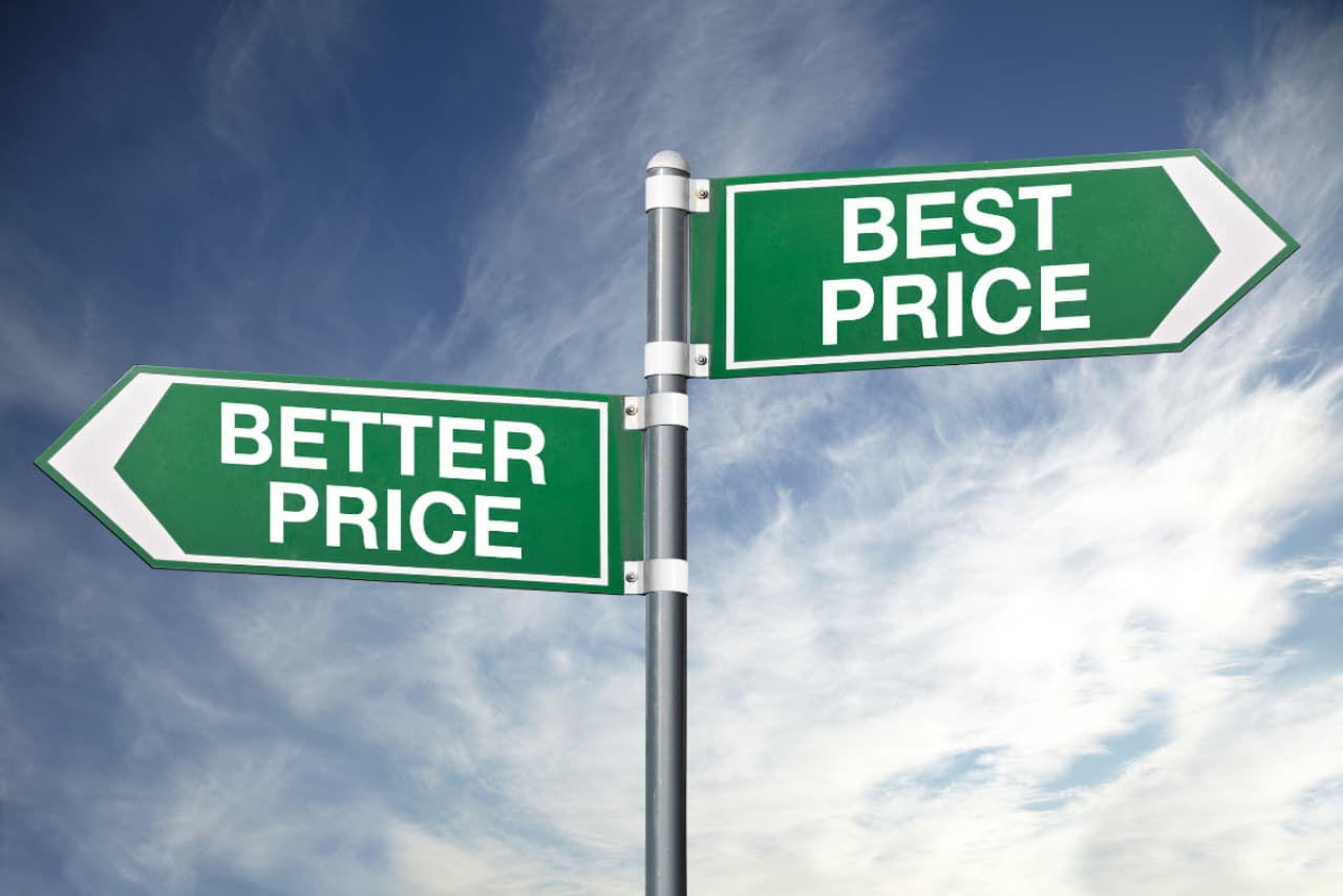 better price or best price